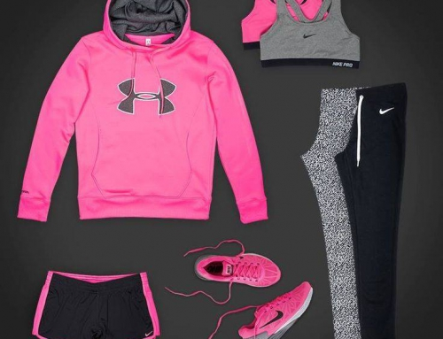 What to Wear to Workout – Pink & Black