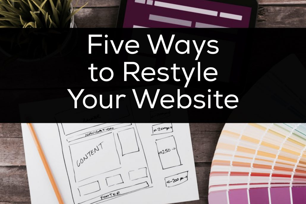 restyle your website