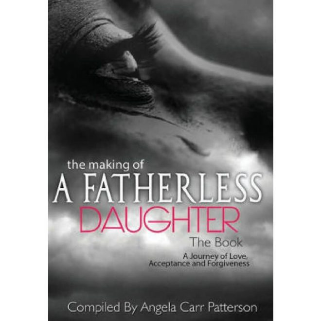 book cover - the making of a fatherless daughter