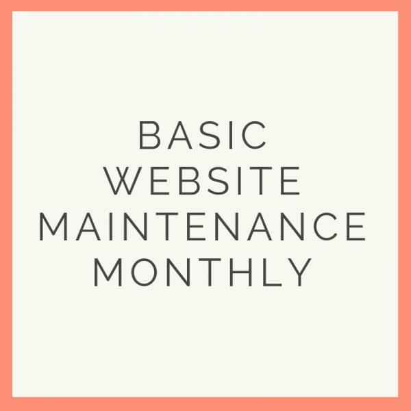 basic maintenance monthly