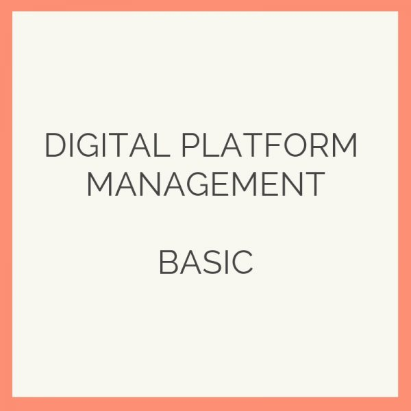digital platform mgt basic