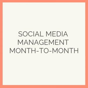 social media month to month