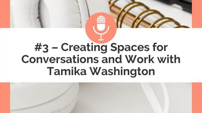 podcast pin - tamika washington