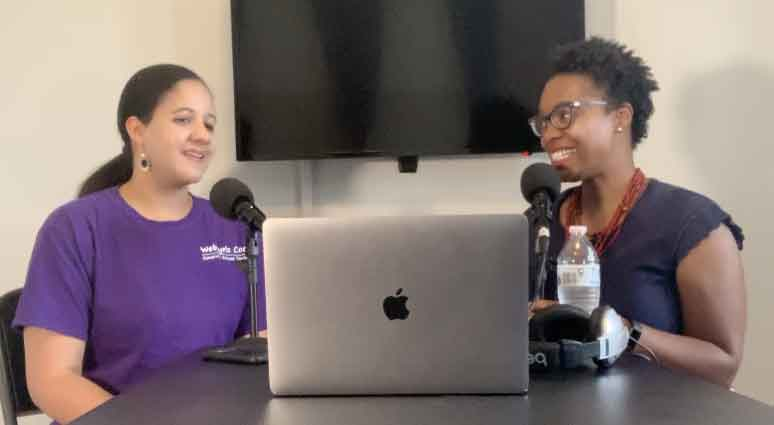 Shambi Broome and Ebony Looney on the Techie Girl with the Lipstick Podcast