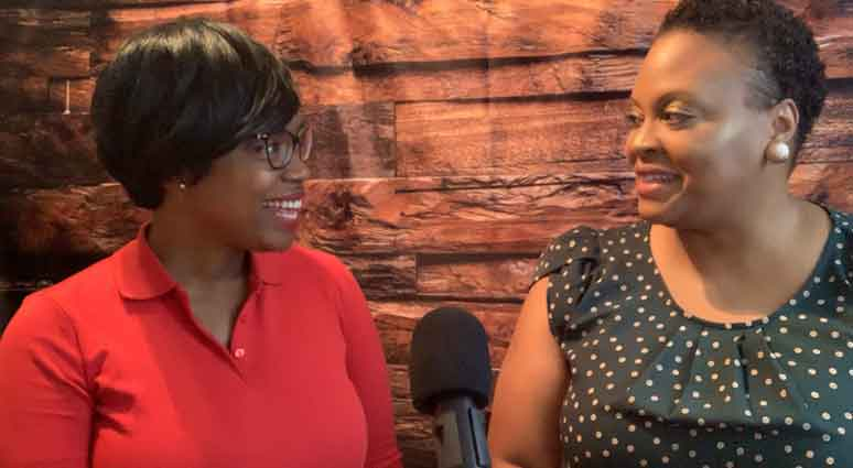 Ebony and Beth Ruffin talk on the Techie Girl with the Lipstick Podcast