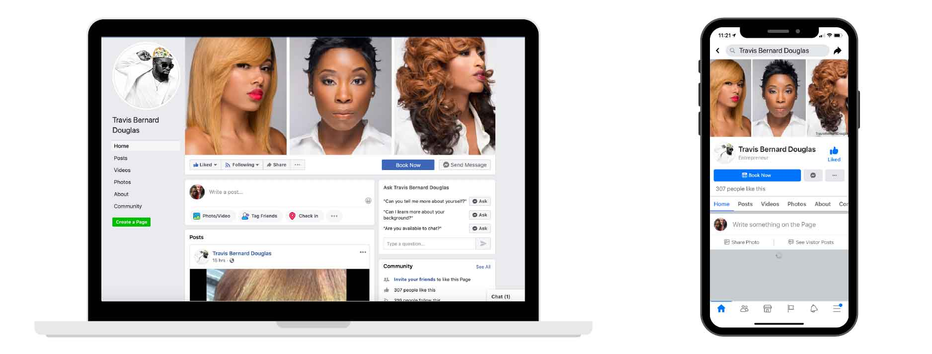 2020 Facebook Cover-Ideas for salons 2