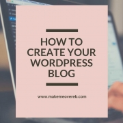 How to Create Your WordPress Blog