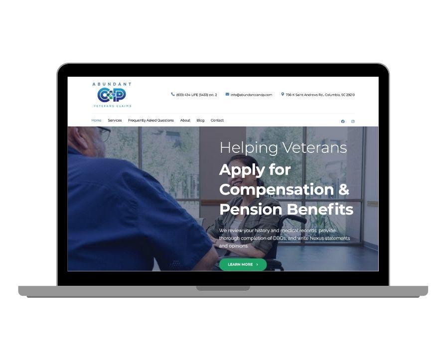 Abundant C&P Veteran Claims Website