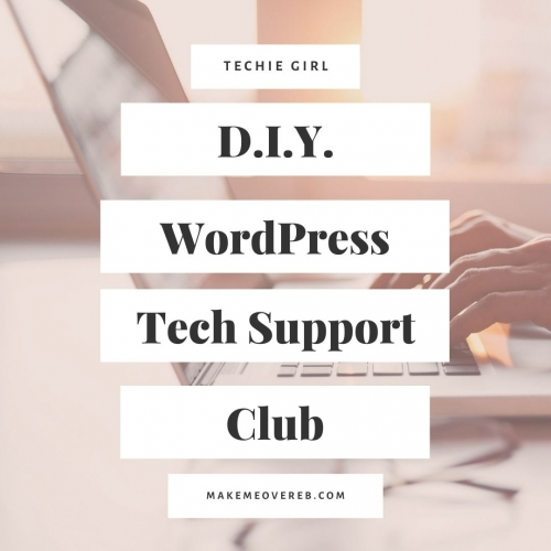 DIY Wordpress Tech Support Club