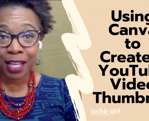 Using Canva to Create a YouTube Video Thumbnail