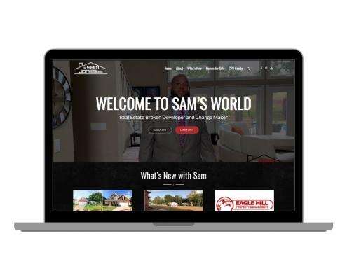 The Sam Jones Show Website
