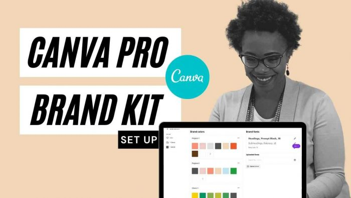canva pro brand kit setup