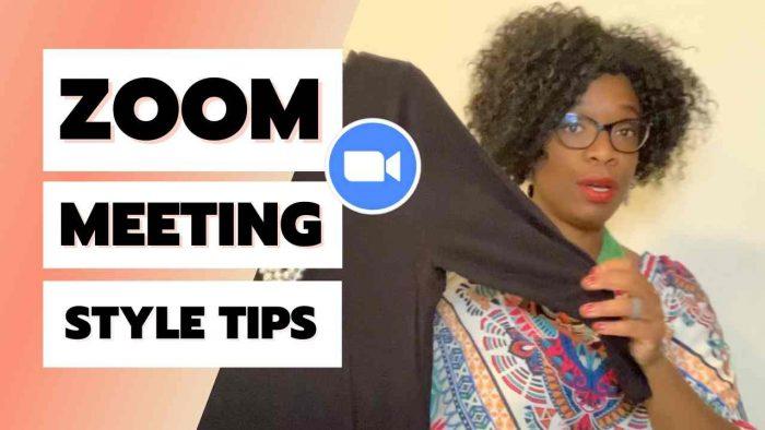 zoom shirt tips